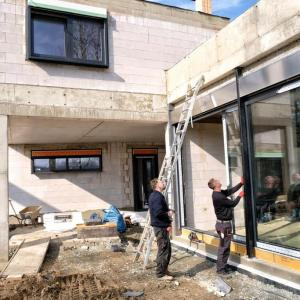 Baustelle im Chemnitz