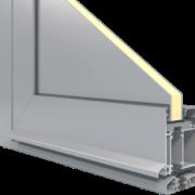 aluminium drzwi